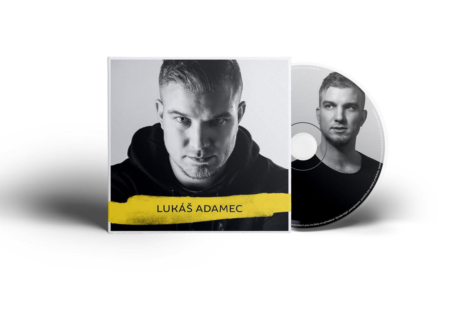 Lukáš Adamec - CD obal