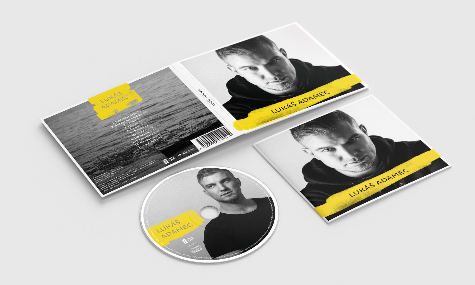 Lukáš Adamec - CD cover 2