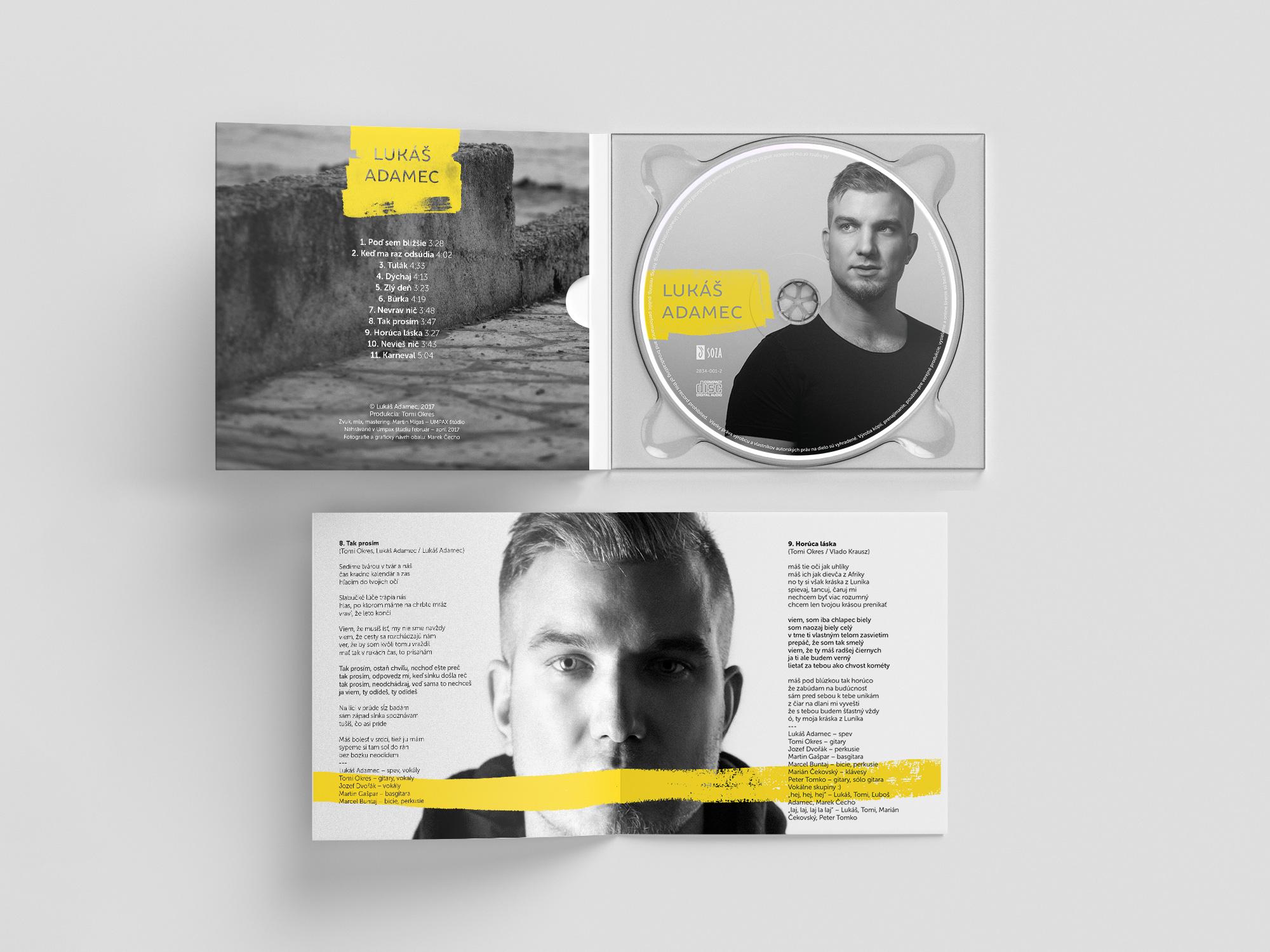 Lukáš Adamec - CD cover