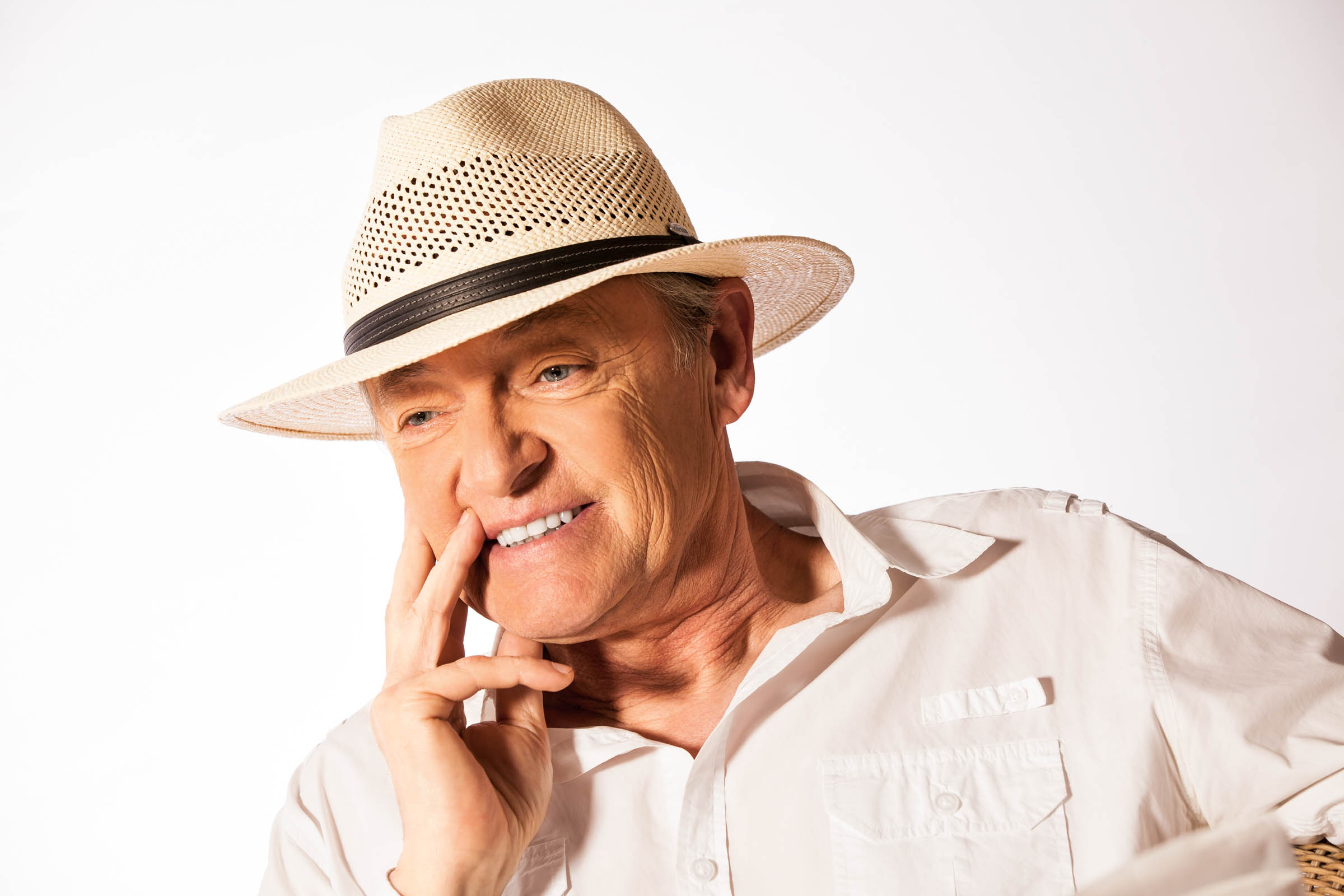 Mayser - reklamná fashion fotografia - portrét v klobúku