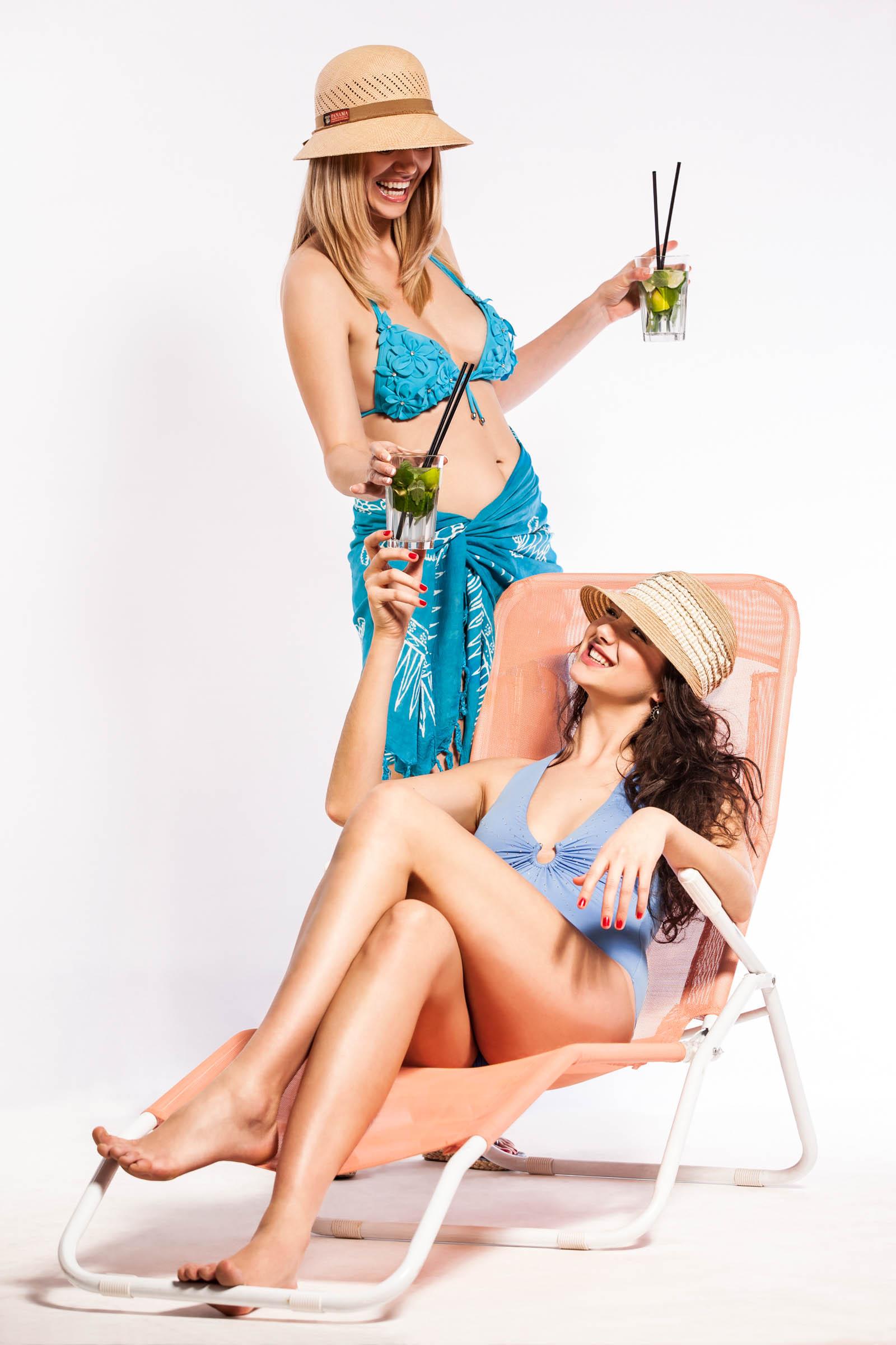 Mayser - reklamná fotografia - Dámy na pláži