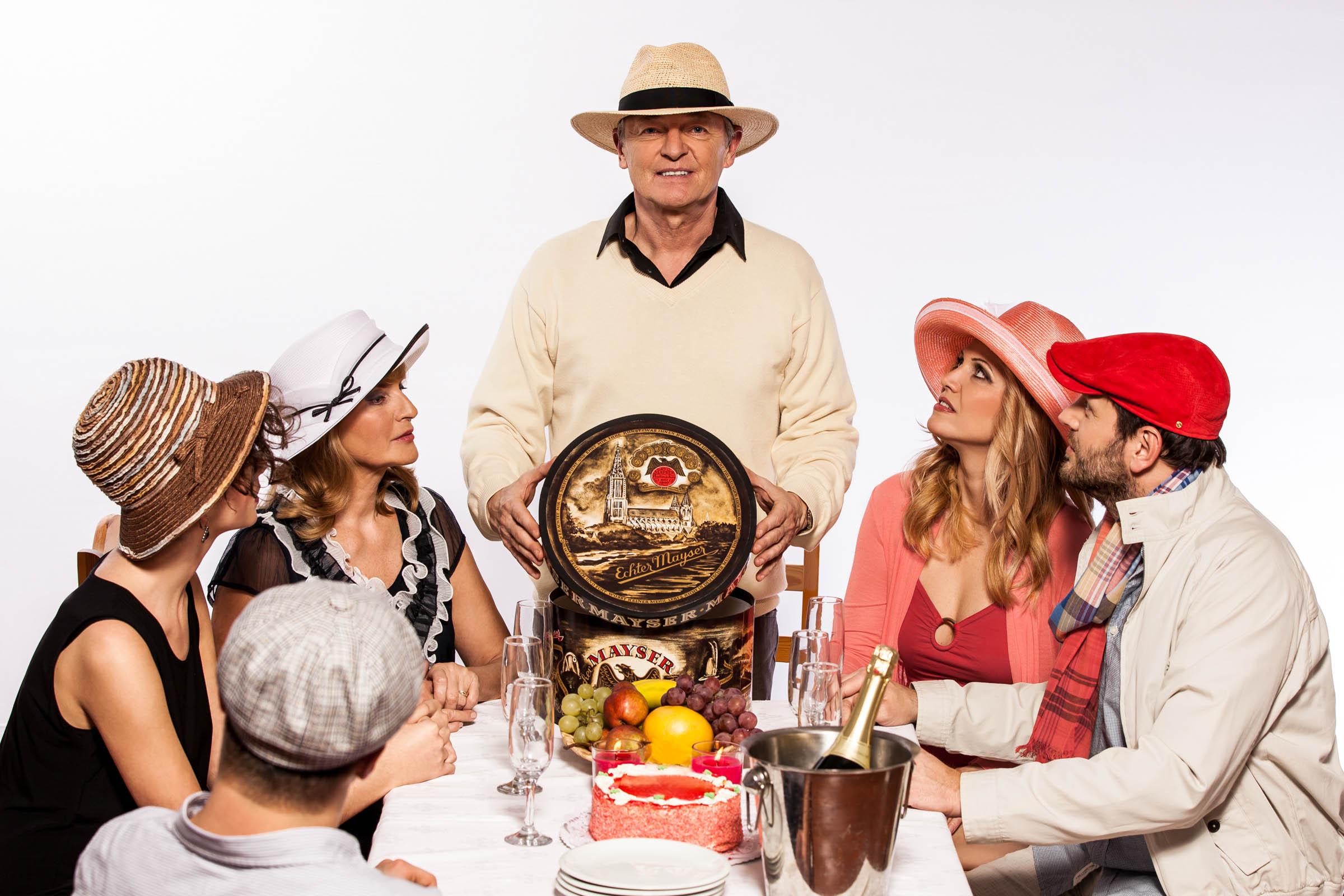 Mayser - reklamná fotografia - Rodinná oslava