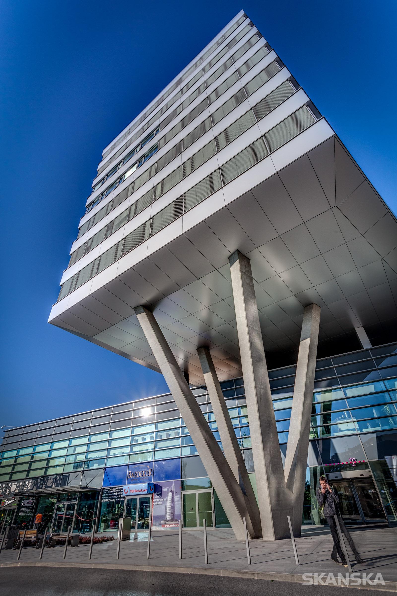 Budova T-systems, Žriedlova ulica, Košice - portfólio stavieb SKANSKA