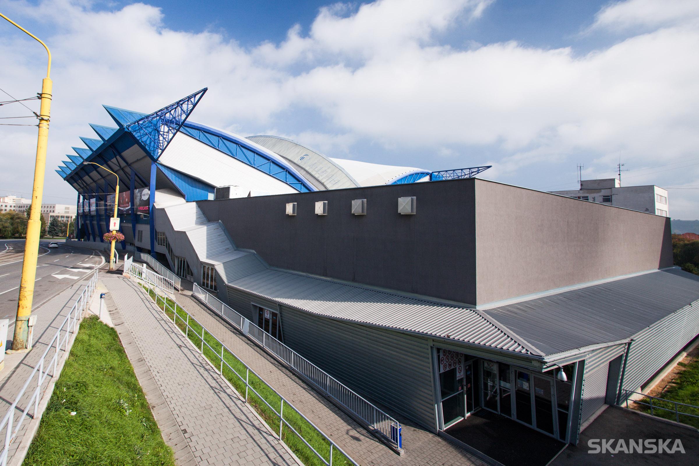 Steel aréna Košice - portfólio stavieb SKANSKA