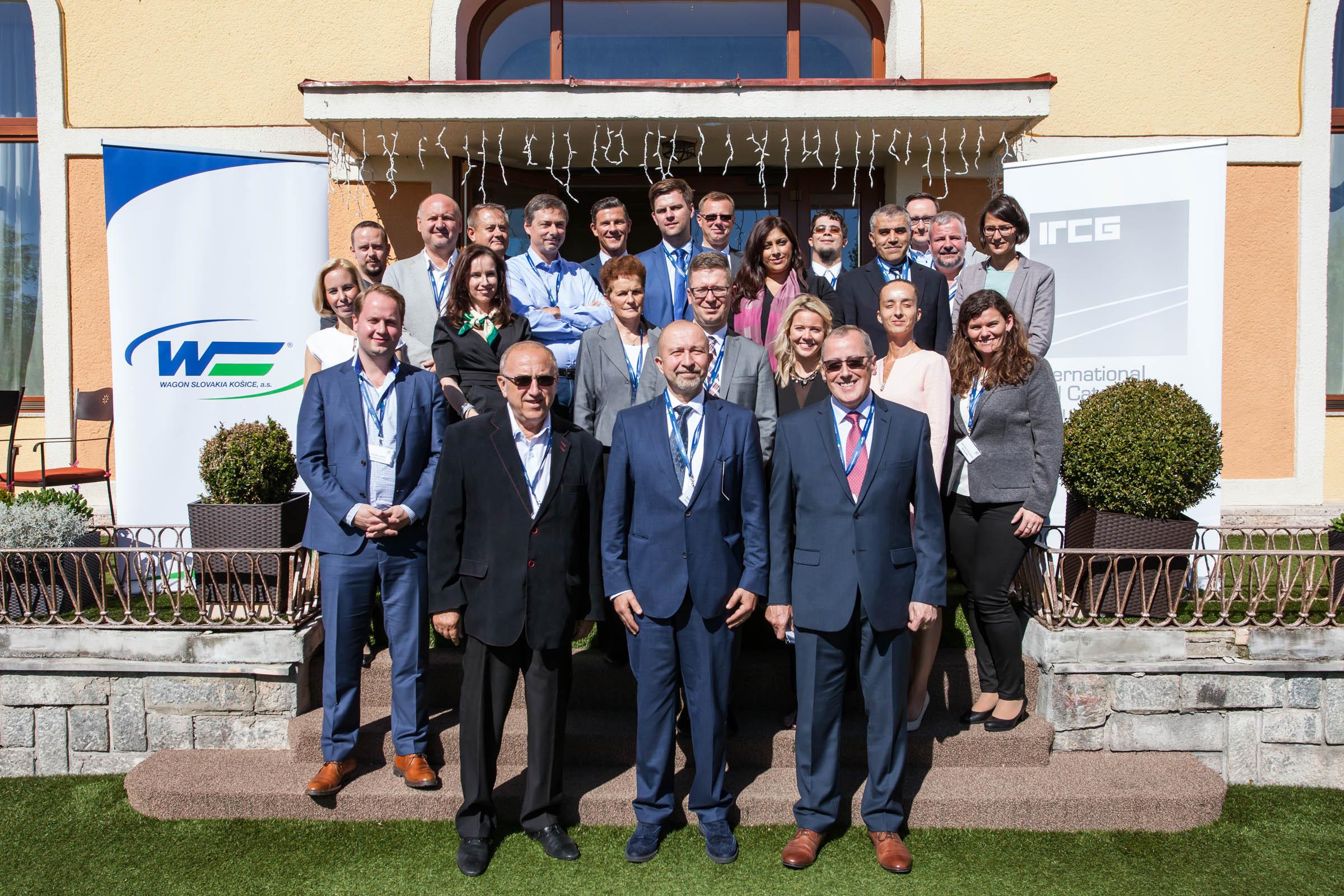 IRCG 2017 Tatranská Lomnica - spoločná fotografia