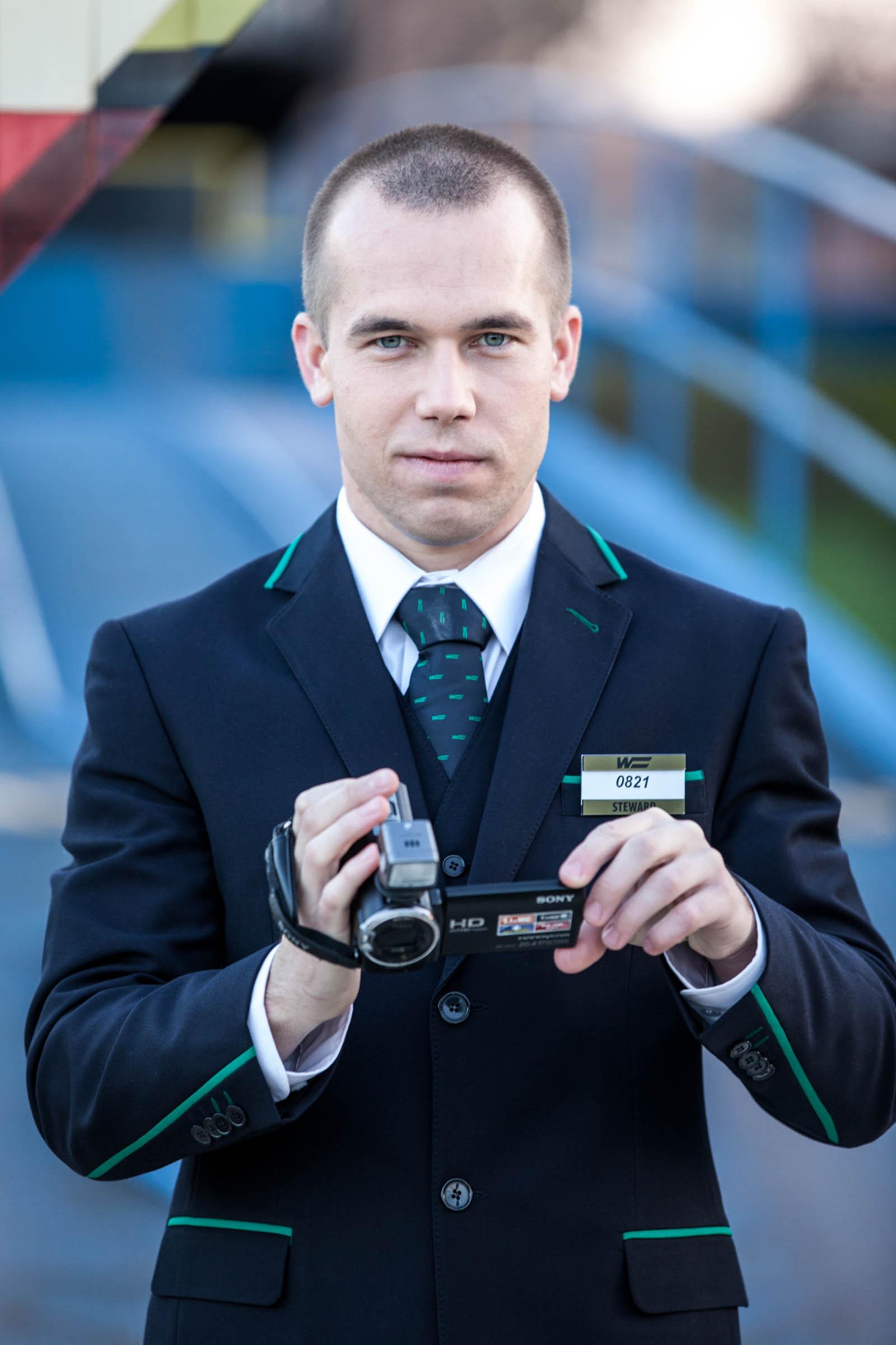 Steward s kamerou - Wagon Slovakia Košice a.s.