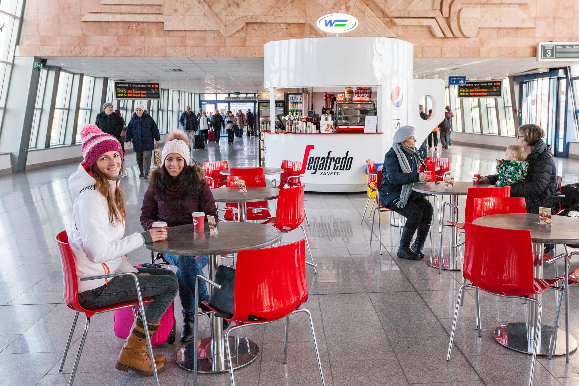 Kaviareň Šálka kávy - Železničná stanica Poprad