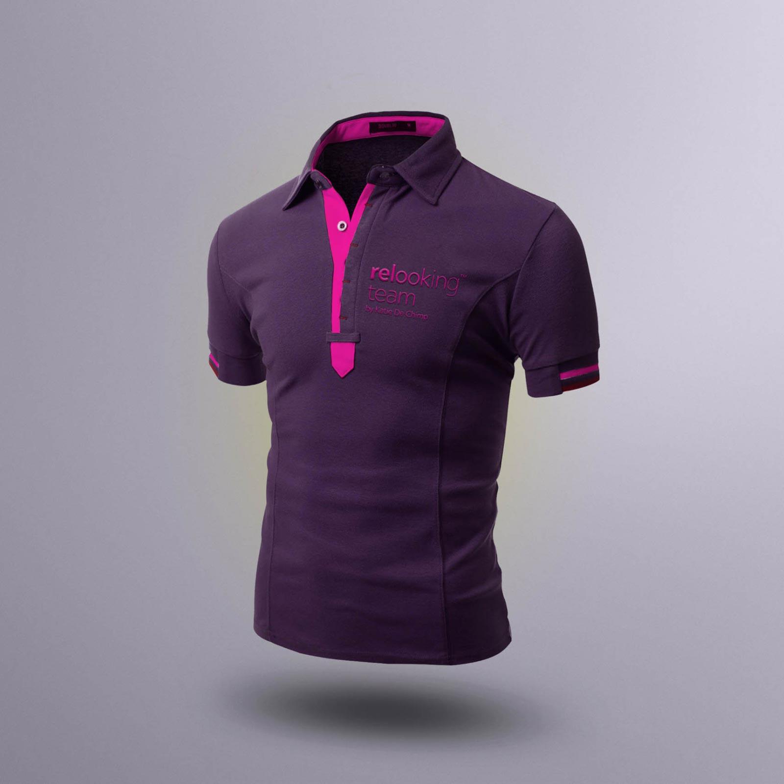 grafický návrh trička relooking team