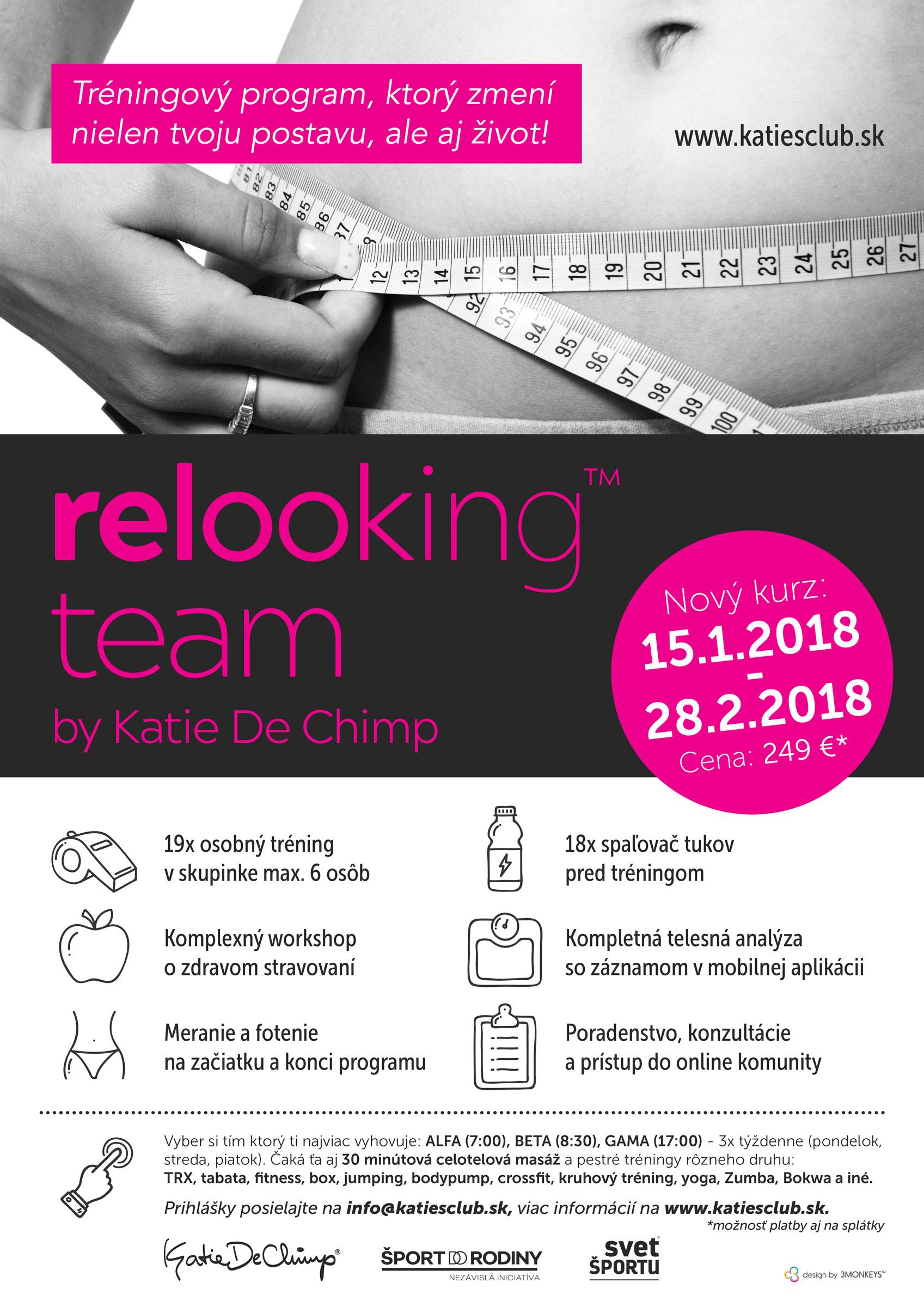 Dizajn plagátu relooking team
